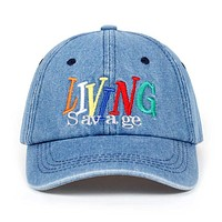 """Living Savage"" Cap"