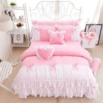 100% Cotton Princess Girls Bedding Set