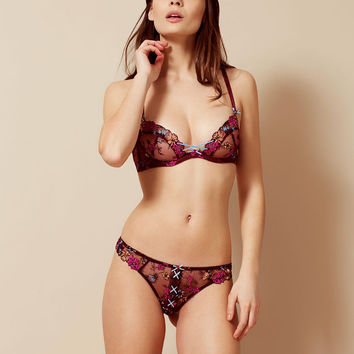 Bluebelle Thong Burgundy