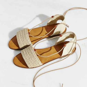 Ecote Lace-Up Slide Sandal