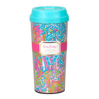 Lilly Pulitzer Thermal Mug- Scuba to Cuba
