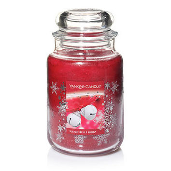 Sleigh Bells Ring© : Large Classic Jar Candles : Yankee Candle