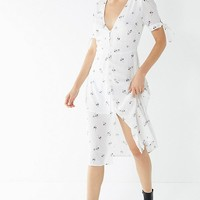 UO Melanie Button-Down Midi Dress | Urban Outfitters