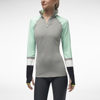 NIKE PRO HYPERWARM ENGINEERED HALF-ZIP