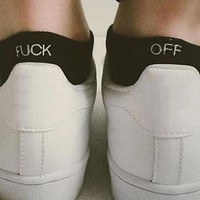 F@CK Off Funny Womens Socks