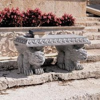 Blair Castle Sculptural Gargoyle Bench - NG29878 - Design Toscano