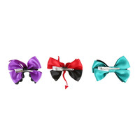The Nightmare Before Christmas Lock, Shock And Barrel Cosplay Hair Bow 3 Pack
