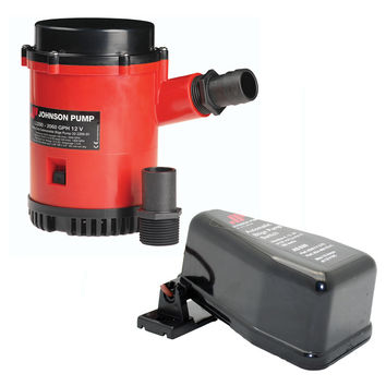 Johnson Pump 2200 Heavy Duty Bilge Pump w/Free AS888 Automatic Switch