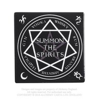 Alchemy Gothic Summon the Spirits Coaster Occult Home Decor