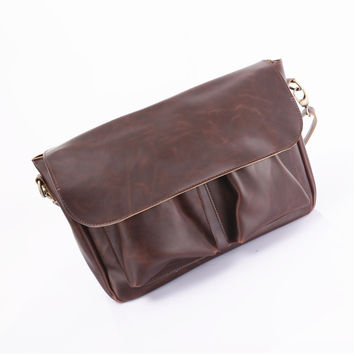 Korean Casual One Shoulder Men Bags Vintage Ppurses Messenger Bags [6583344839]