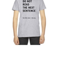 Do Not Read - Youth T-shirt
