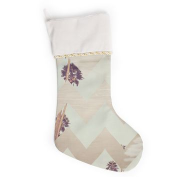"Catherine McDonald ""Oasis"" Christmas Stocking"