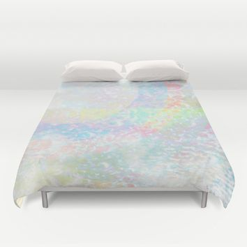 The Grey Area Duvet Cover by Ben Geiger