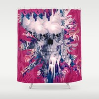 Break Away Shower Curtain by Kristy Patterson Design