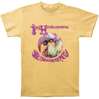 Jimi Hendrix Men's  Are You Experienced? T-shirt Honey