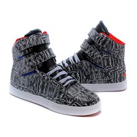 Supra TK Society Woman Men Fashion High-Top Flats Sneakers Sport Shoes