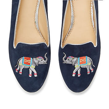 Lucky Elephant Novelty Smoking Slipper | Novelty Smoking Slippers | Shoes | Categories | C. Wonder
