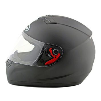 Motorcycle Motor Bike Scooter Safety Helmet 168   dull black