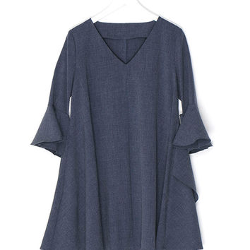 Oversized Spiral Sleeved Shirt
