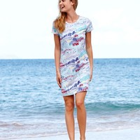 St. Barths Scene T-Shirt Dress