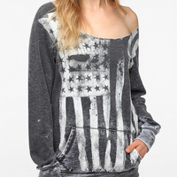 Urban Outfitters - Sparkle & Fade Washed Americana Sweatshirt