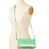 Lilly Pulitzer Hot To Trot Foldover Crossbody Bag