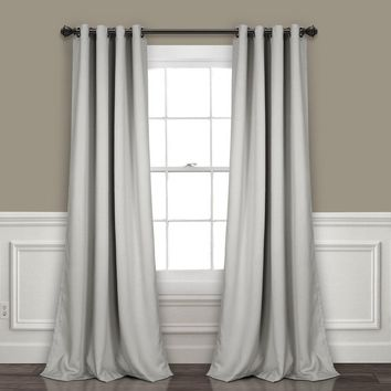 GLAM Insulated Blackout Window Curtains in 7 Colors