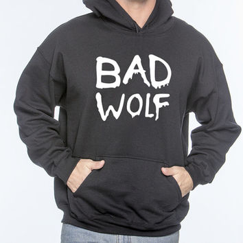 "Doctor Who ""Bad Wolf"" Hoodie (SM-XL)"