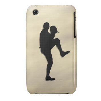 Baseball Player Pitcher iPhone 3 Cover