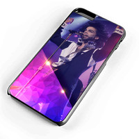Glow Concert Prince Purple Rain iPhone Case and Samsung Galaxy Case