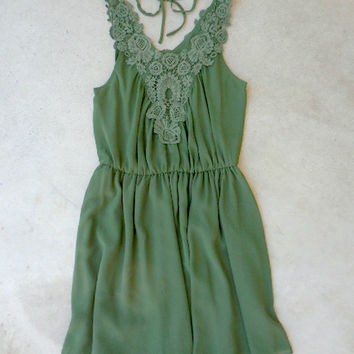 Olive Creek Party Dress