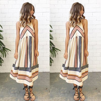 Summer Sleeveless Casual Sundress