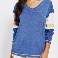 Colorfast Long-Sleeve Athletic Tunic Top