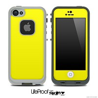Solid Yellow Skin for the iPhone 5 or 4/4s LifeProof Case