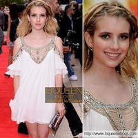 Emma Roberts in MXK08B Dress - Designer Shoes|Bqueenshoes.com