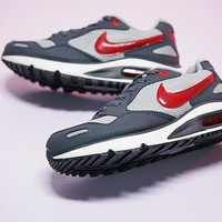"Nike Air Max DIRECT Retro Running Shoes ""Gray&Red"" 579923-060"