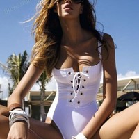 One piece vintage swimsuit