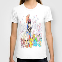 Pokemon T-shirt by Krista Rae | Society6