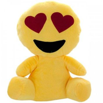 Emoticon Character Plush Doll Pillow