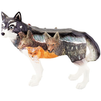Wolf Body Blood Brothers Figurine