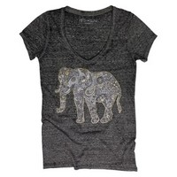 Junior's Elephant Graphic Tee