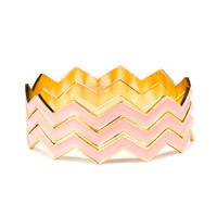 Cate and Chloe Chevron 3-Piece Bangle