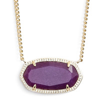 Kendra Scott Dylan Stone Pendent Necklace - Multiple Colors