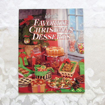 Ideals Favorite Christmas Desserts Vintage Cookbook