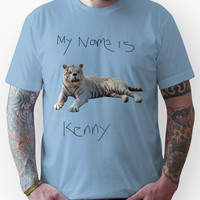 Kenny the down syndrome tiger Unisex T-Shirt