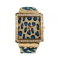 Leopard  Rhinestone Watch - Diva Hot Couture