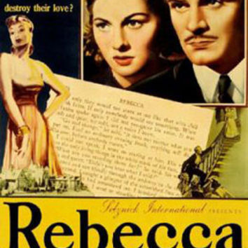 Rebecca Laurence Olivier Vintage Movie Poster