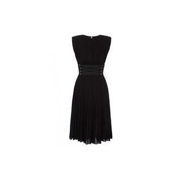 Elisabetta Franchi Dress With Reason Straw (Women's)