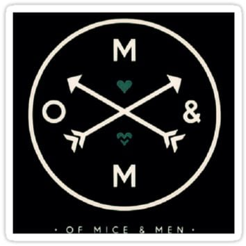 Of Mice & Men Arrow Logo Design (Option 2)