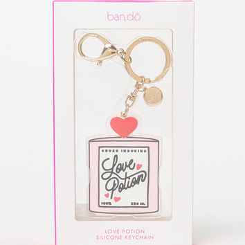 Ban.do Love Potion Silicone Keychain at PacSun.com